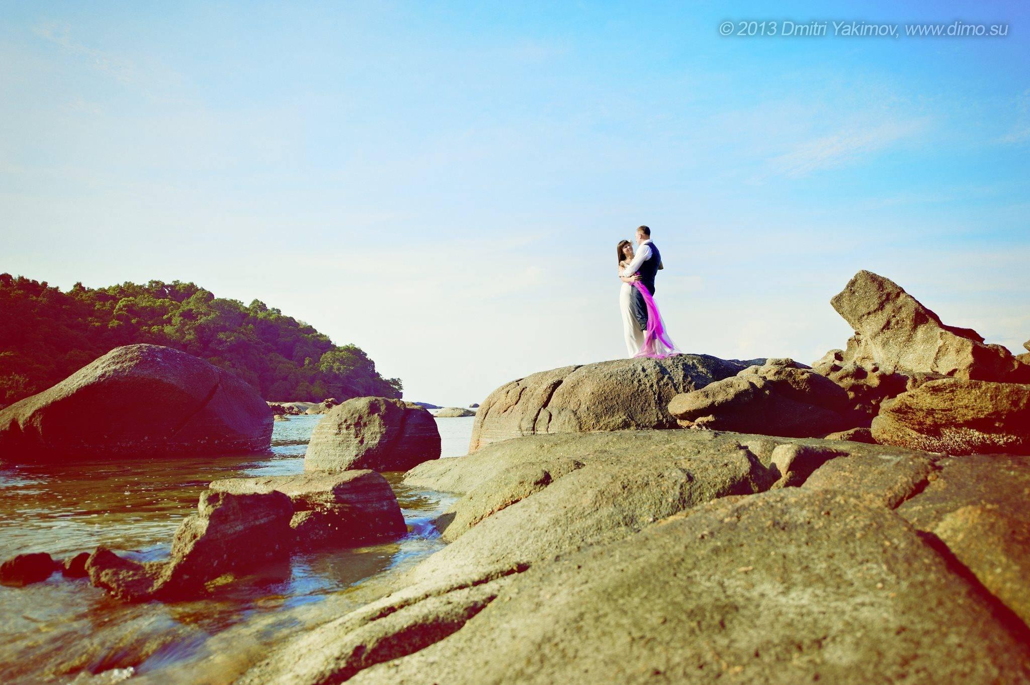 свадебная фотосессия в Малайзии