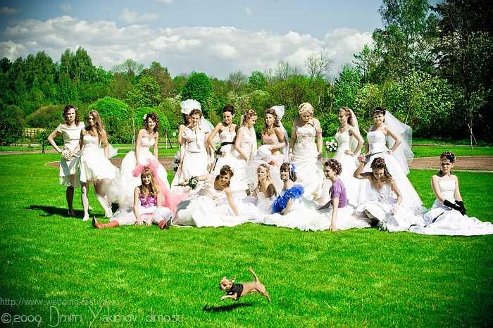 Wedding Festival (бывший Парад Невест) в Петербурге, 2009