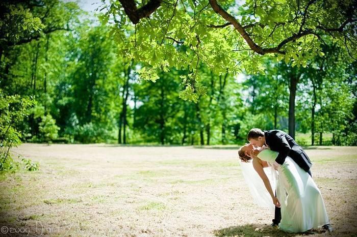 Усадебная свадебная романтика