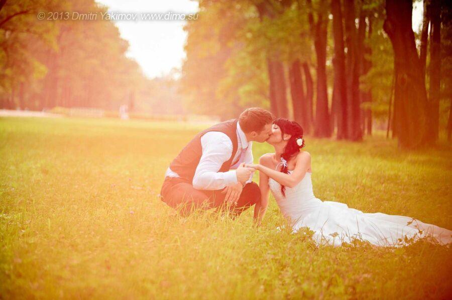 свадебные фотоснимки ярко и сочно