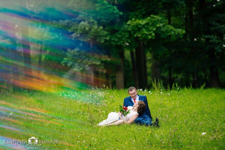 Съёмка свадьбы в Екатерининском парке