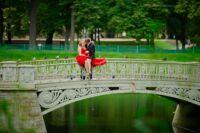 летом свадьбы в спб