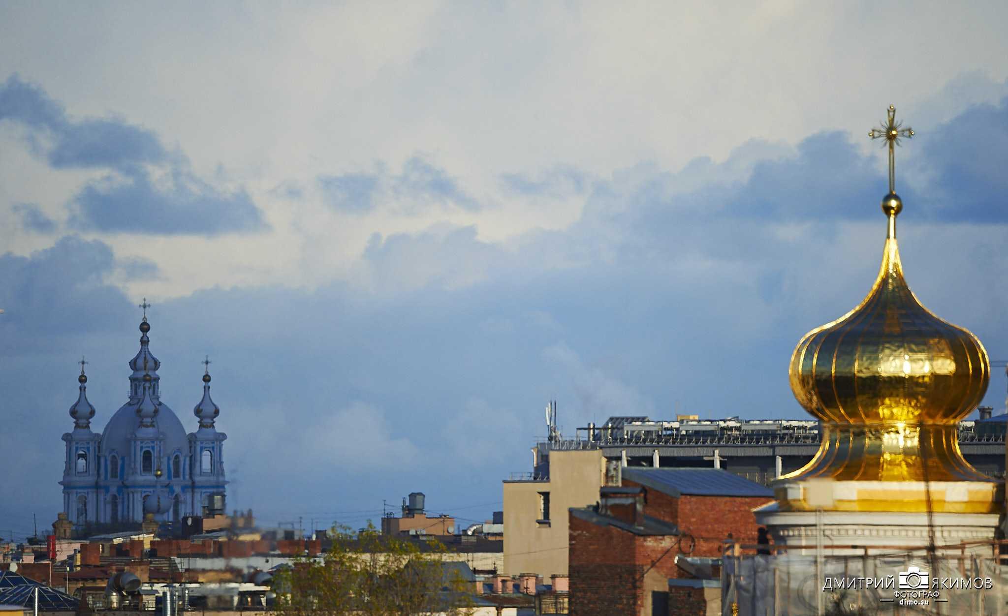 DIM 7407 - Смольный собор. Вид с крыш.