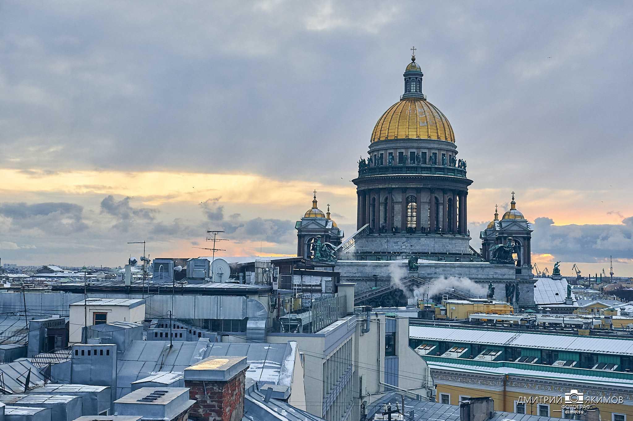 Зимний Исаакиевский собор, крыши