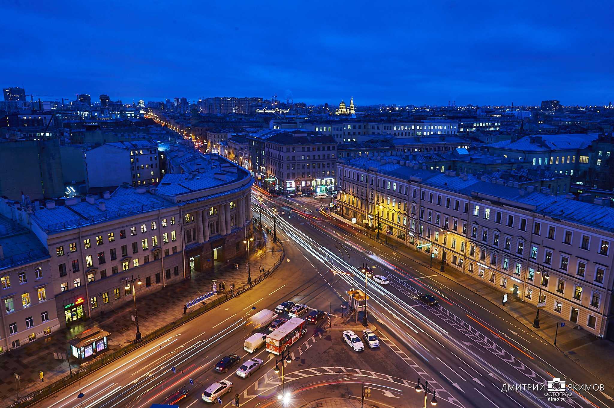 Вечерний Московский проспект, Технологический институт и Технологическая площадь