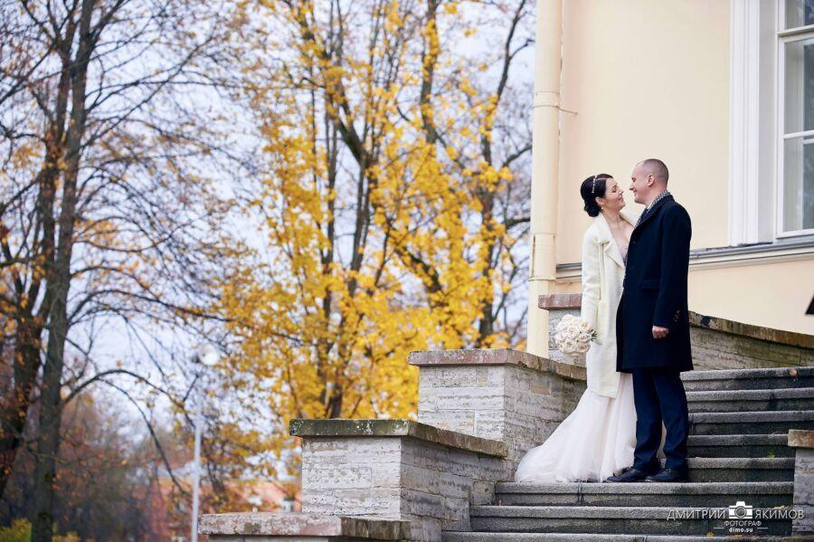 свадебная фотосессия в пушкинском ЗАГСе