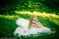 невеста в зелени