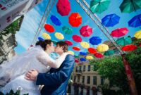 яркий фотограф на нашу свадьбу в спб